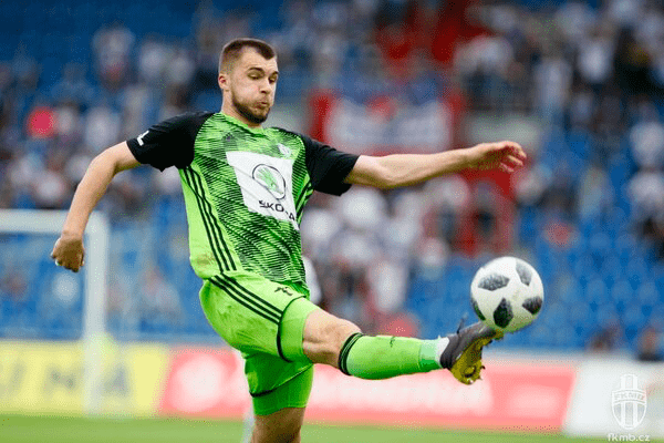 Николай Комличенко - нападающий «Млада Болеслав»